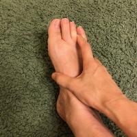 足指リンパ
